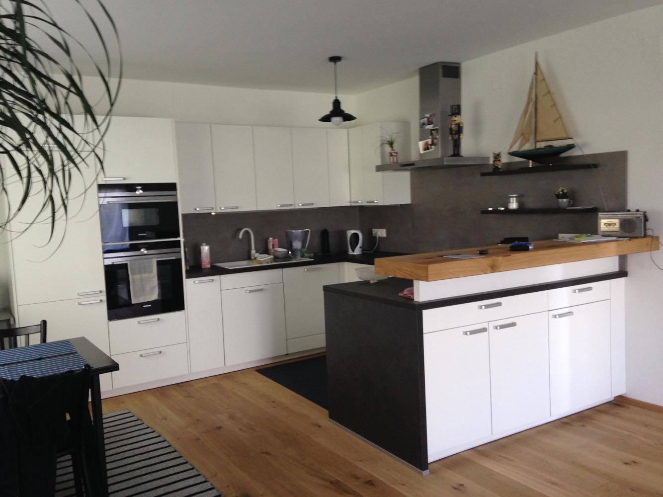 dan k che vom tischler projekt holz. Black Bedroom Furniture Sets. Home Design Ideas